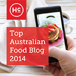 Ranked in Australia's Top 30 Food&Travel Blogs!
