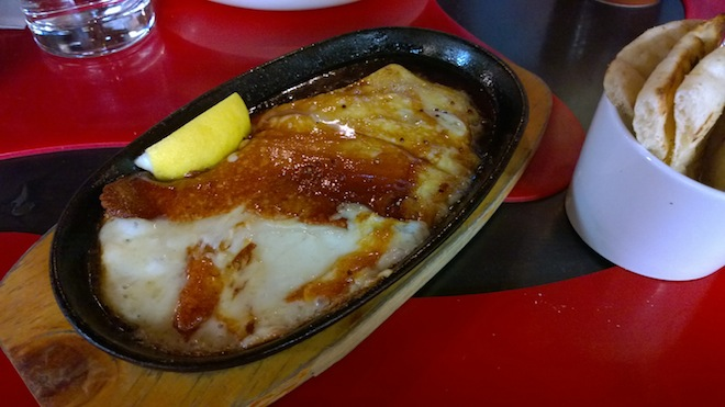 Gazi for Taste of Melbourne_Saganaki