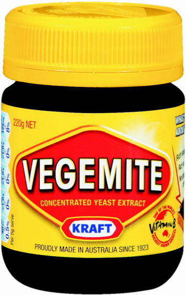 Food Gifts for Aussie Expats Vegemite