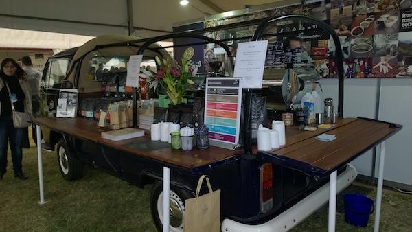 Vittoria Cafe Coffee Cart Taste of Melbourne