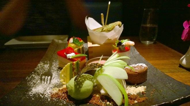 Sake Restaurant Dessert Platter Edited