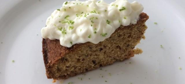 Recipe: Mandarin Lime Semolina Cake