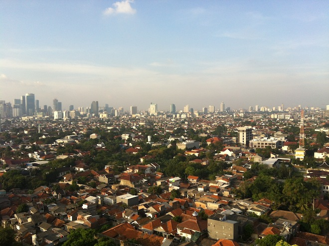 View of Jakarta from Kemang