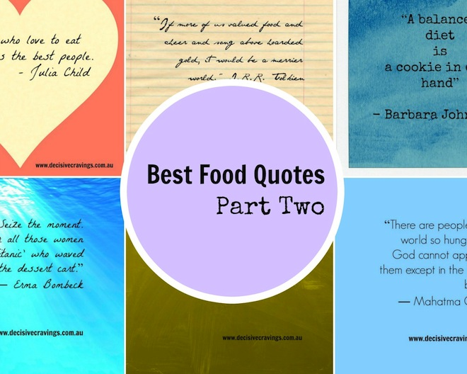 Best Food Quotes Part 2 cover