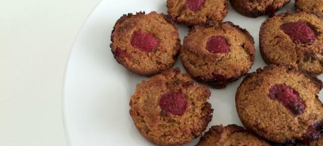 Recipe: Coconut and Raspberry Mini Cakes