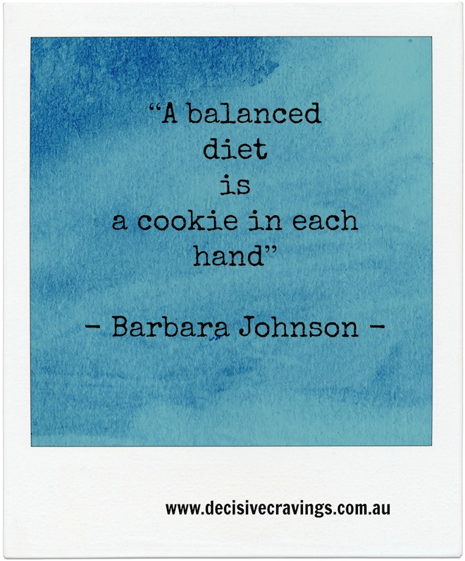 Cookie Food Quote