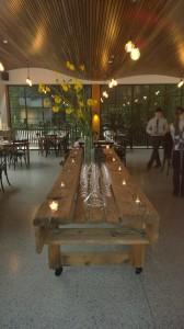 Dine in Melbas Garden space details