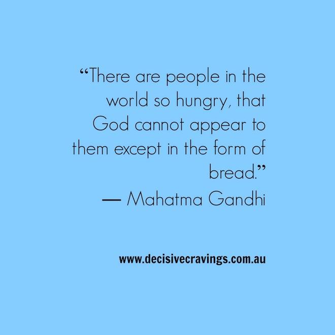 Gandhi Food Quote