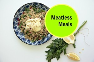 Meatless Meals cover one