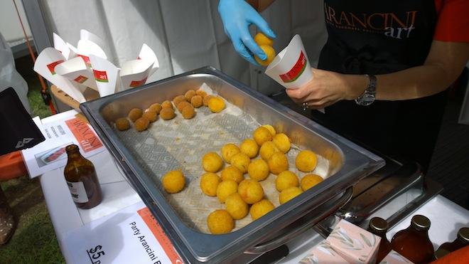 Melbourne Tomato Festival arancini