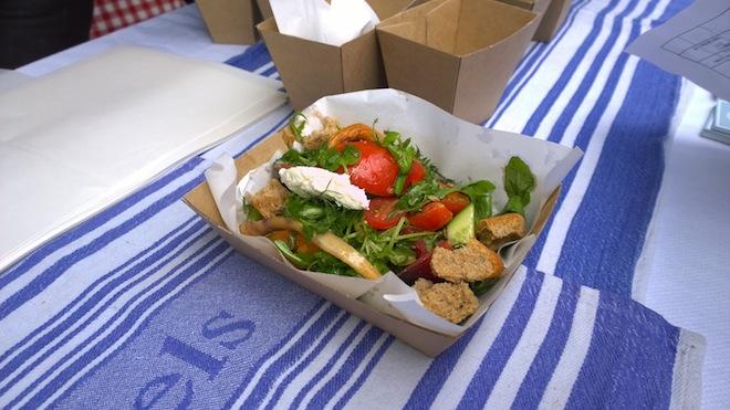 Melbourne Tomato Festival bruschetta salad