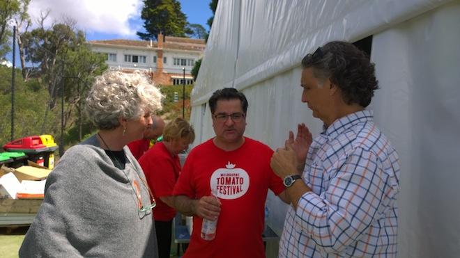 Melbourne Tomato Festival the Chefs