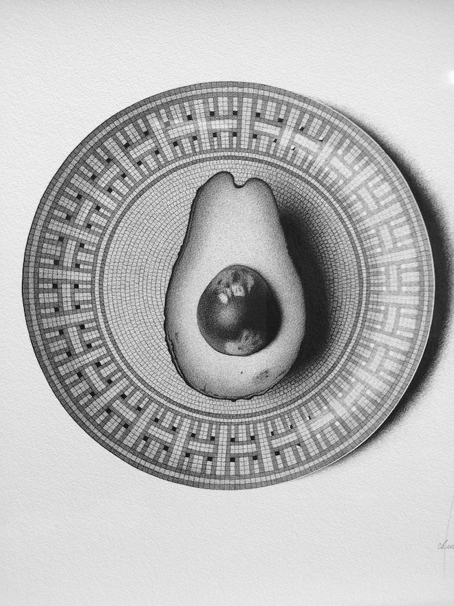 CJ Hendry Exhibition avocado