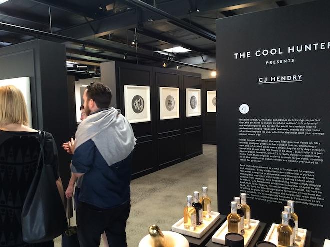 CJ Hendry Exhibition inside 1