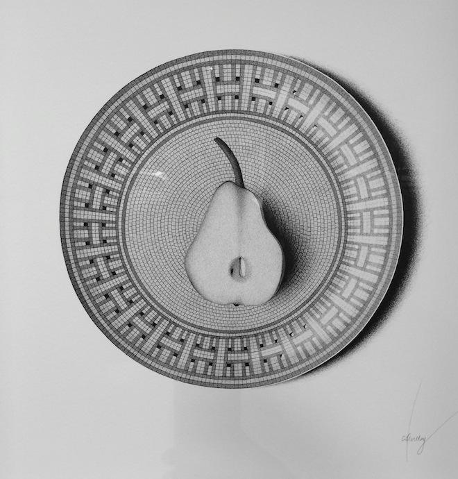 CJ Hendry Exhibition pear