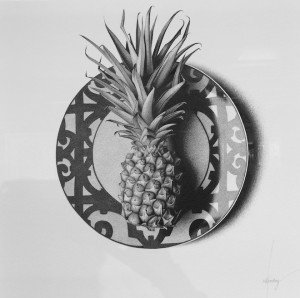 CJ Hendry Exhibition pineapple