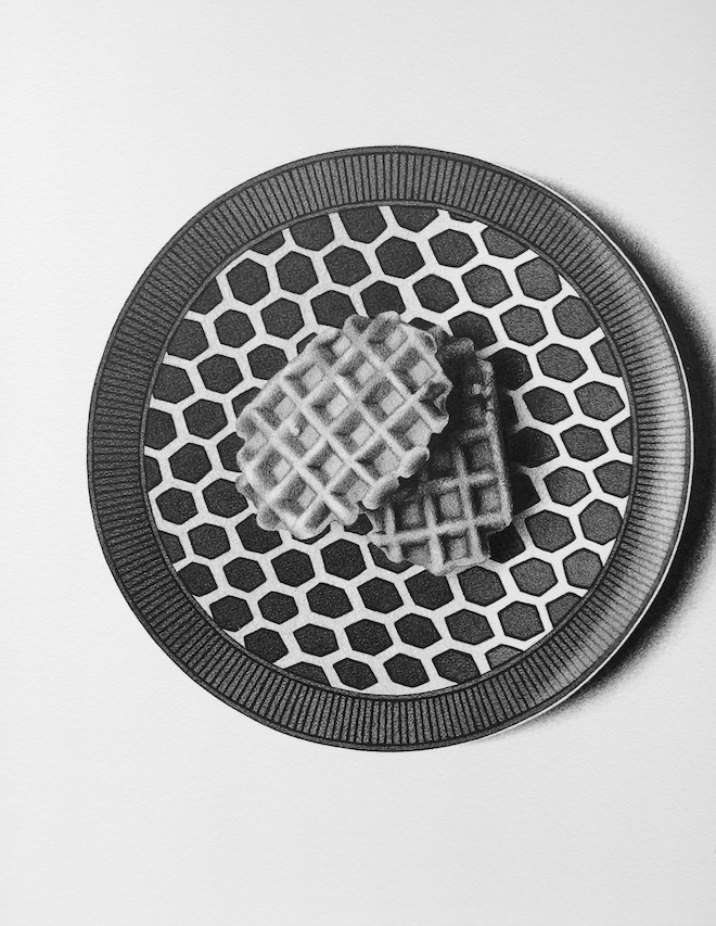 CJ Hendry Exhibition waffles