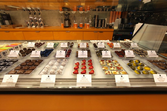 Chocoholics Tours Chocolate cabinet