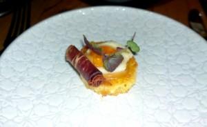 Sezar Restaurant Bastourma and egg final