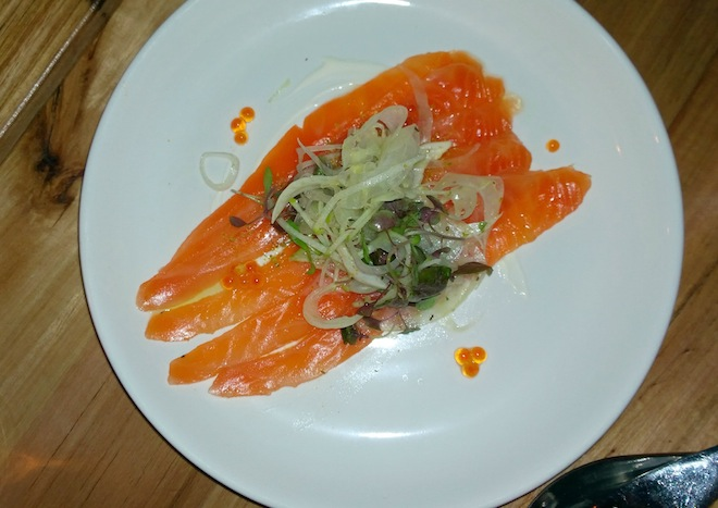 Sezar Restaurant smoked ocean trout final