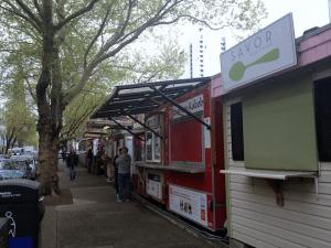 Portland Food Mini Guide Food Cart Street PNG