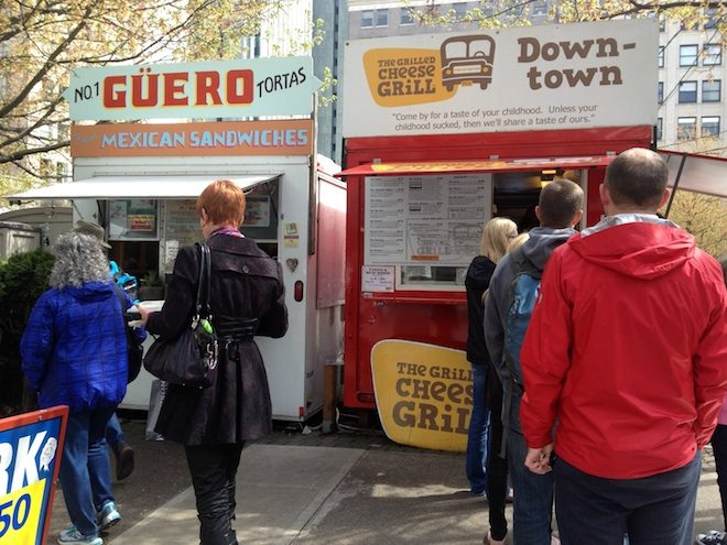 Portland Food Mini Guide Food Carts Grilled Cheese Grill