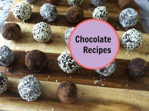 Chocolate Recipes Cover Image