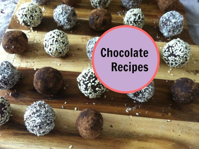 Chocolate Recipes Cover Image