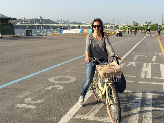 Han river bike ride