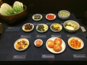 Seoul Food Kim Chi at National Folk museum