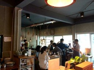 Roots coffee inside Cool Cafes in Bangkok