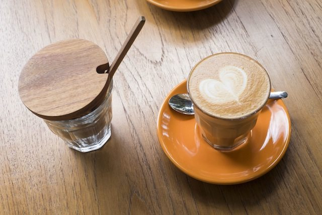 Cool cafes in Chiang Mai Ponganes Espresso caffe latte