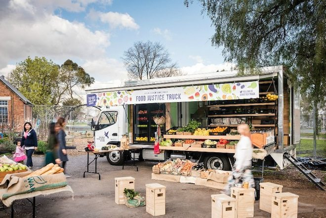 Grocery Shopping for Good ASRC Food Justice Truck Image source asrc dot org dot au