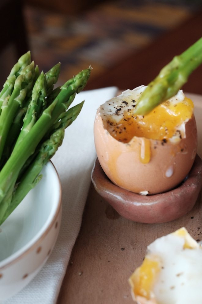 Asparagus recipes egg vertical