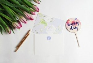 Cake Ink stationery