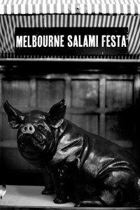 Melbourne Salami Festa 2015 pig