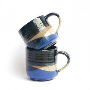 Ayu Larasati stacked blue and black by Francisca Angela