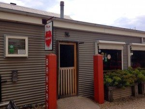 Daylesford & Macedon Ranges Food Mini Guide Red Beard Bakery Trentham exterior