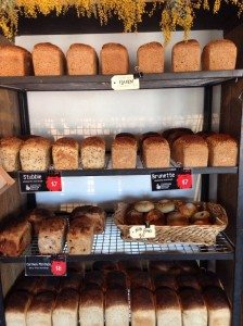 Daylesford & Macedon Ranges Food Mini Guide Red Beard Bakery Trentham loaves
