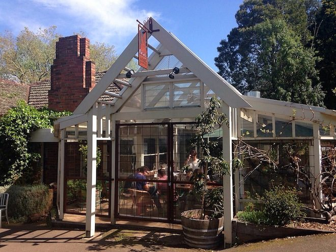 Daylesford & Macedon Ranges Food Mini Guide Wombat Hill House outside close up