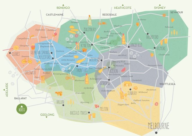 Daylesford and Macedon Ranges Tourism credit MAP