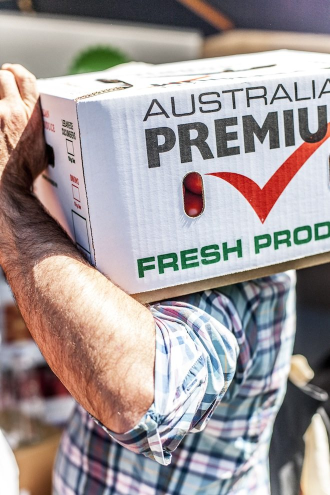 Melbourne Tomato Festival 2016 Fresh Tomatoes