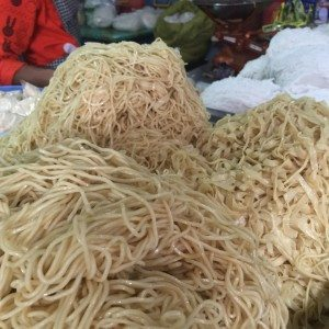 Myanmar Food Mini Guide Noodles at the market in Pyin Oo Lwin