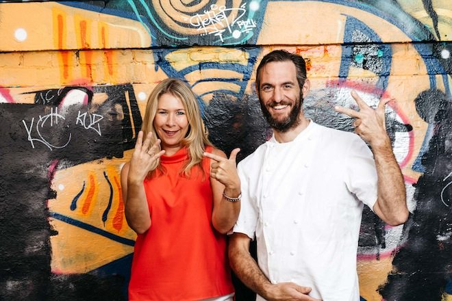 YUME HOUR Katy Barfield founder AND CEO of the YUME APP and Head Chef of St Crispin Joe Grbac