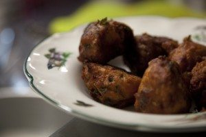 Tamil Feasts fritters by Marianne Mills