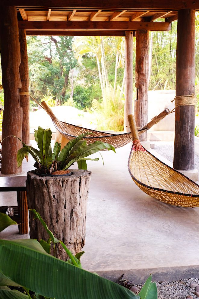 Chiang Rai Homestay hammocks