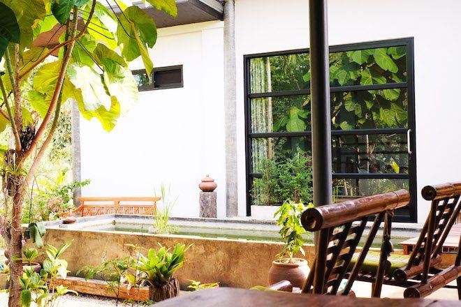 Chiang Rai homestay exterior