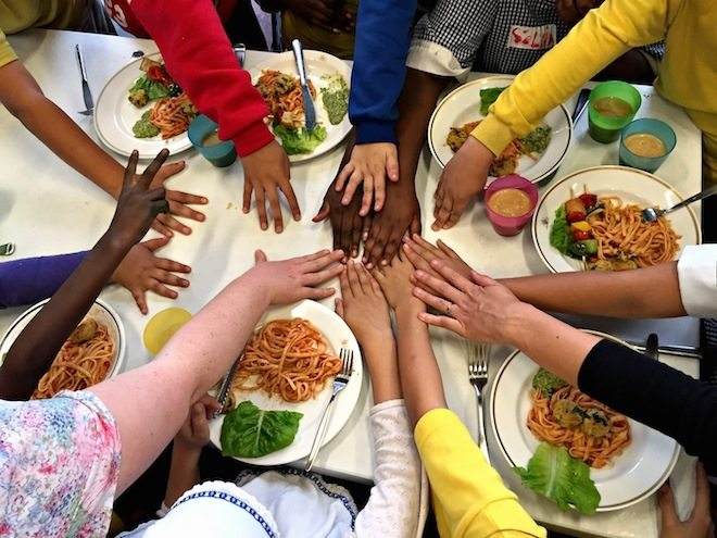 Cultivating Comunity Afterschool cooking program kids cooking hands (1)