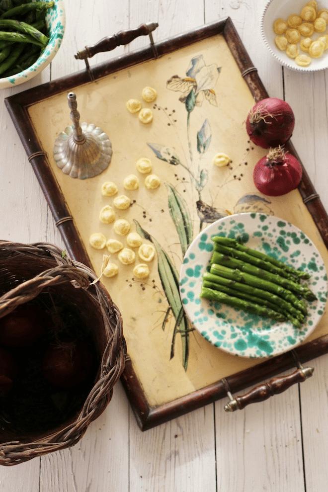 Masseria Potenti orecchiette con asparagi PNG