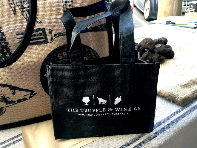 The Truffle Wine Co Bag from Truffle Shuffle